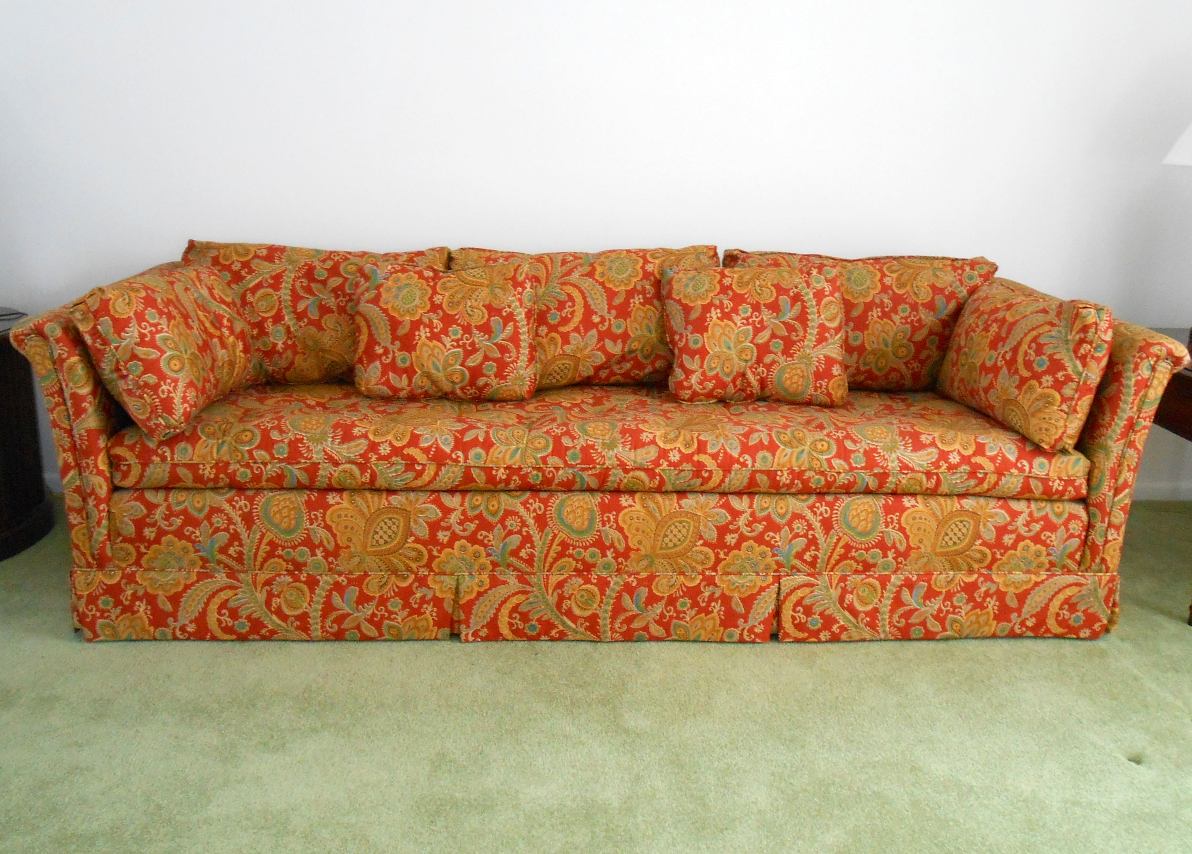 Amazing Late 1970s Sofa And Loveseat ...