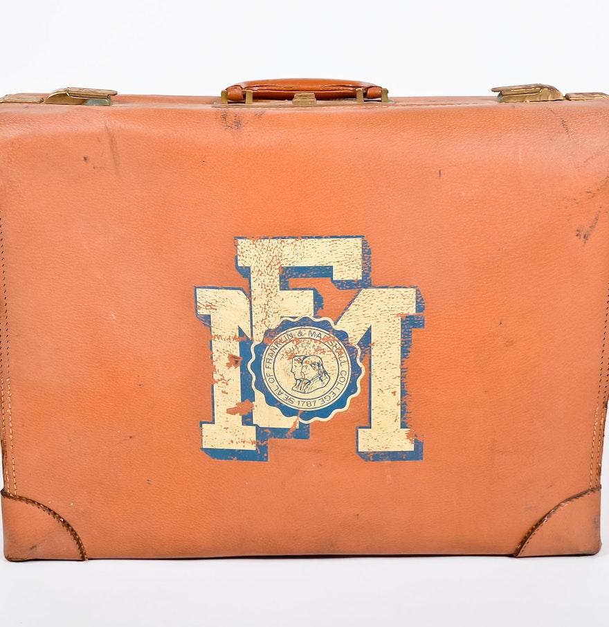 Vintage Franklin Marshall Suitcase Ebth