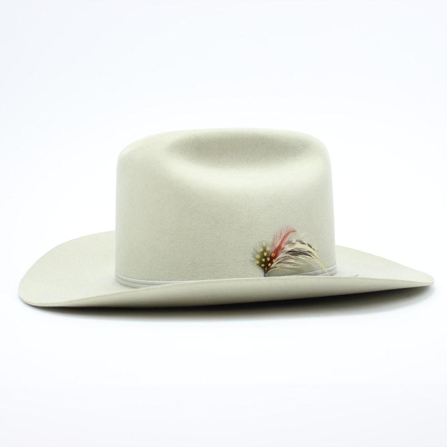 32cfe8f120eb52 Men's Vintage 5X Genuine Fur Felt Beaver Hat : EBTH