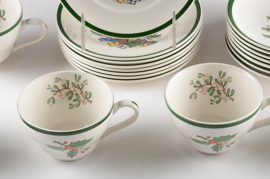 Cuthbertson Original Christmas Tree China