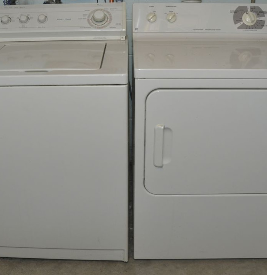 Whirlpool Washer And Ge Dryer Ebth