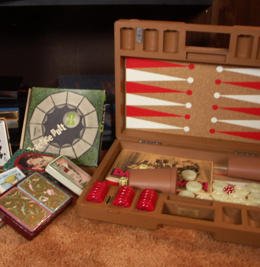 Decorative Boxes For Bookshelf : Small bookcase of games cards and decorative boxes ebth