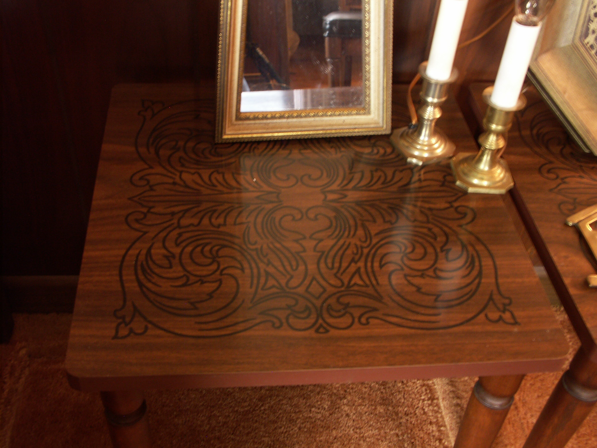 Mid Century Decorative Items And Accent Tables