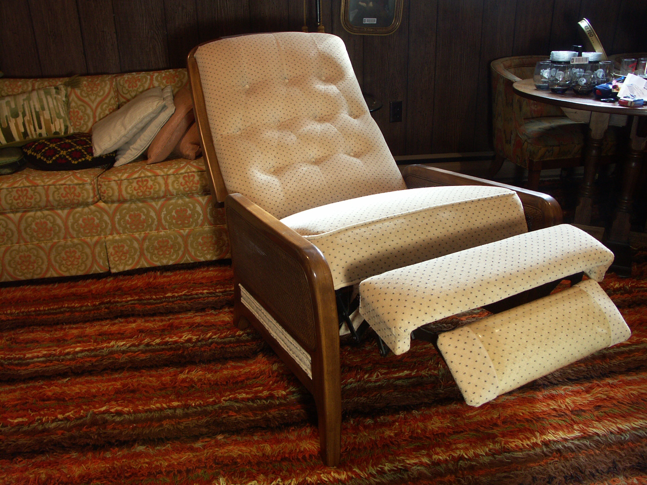 Mid Century Reclining Chair ...