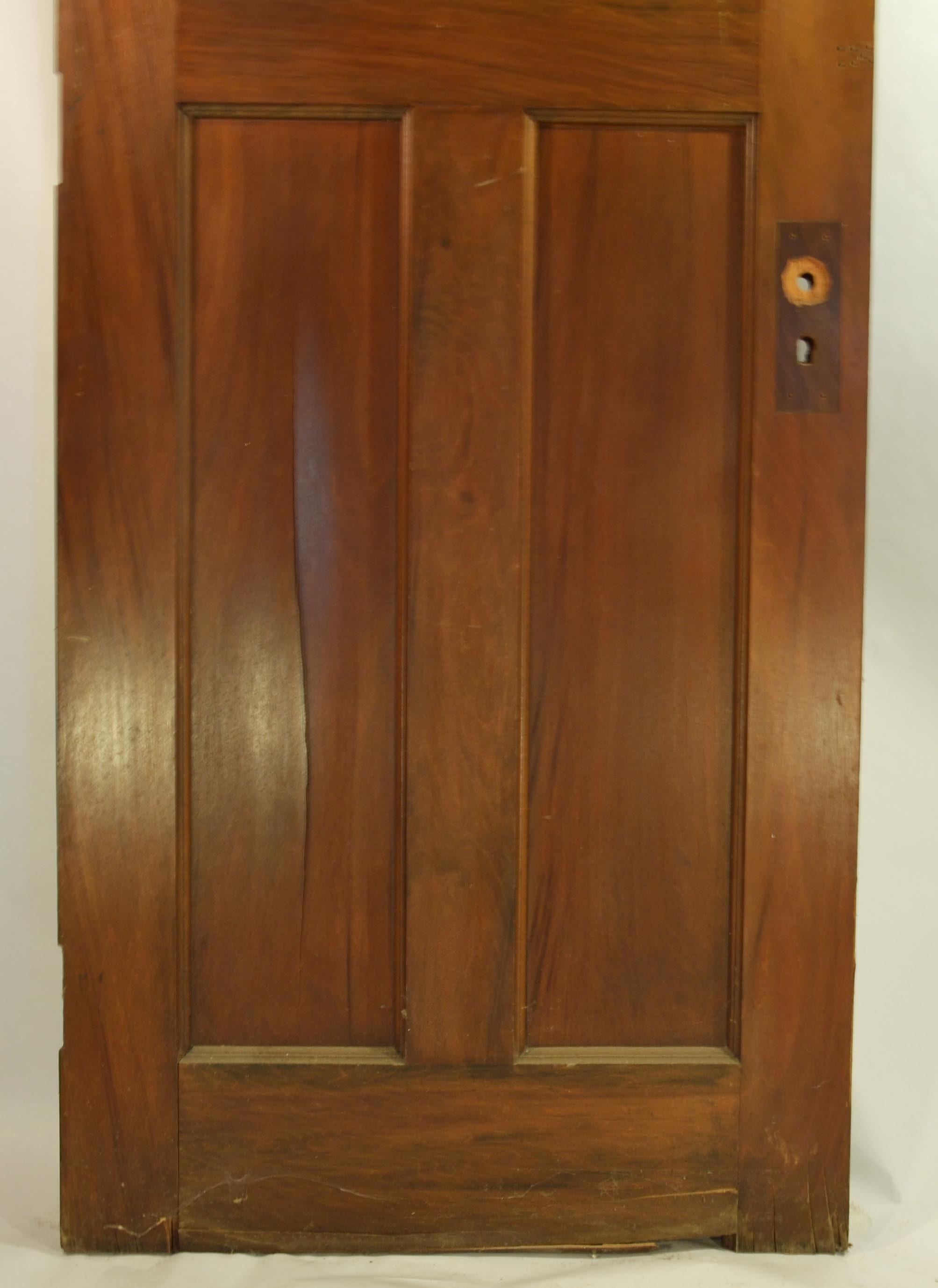 1920s Gum Wood Door ... & 1920s Gum Wood Door : EBTH Pezcame.Com
