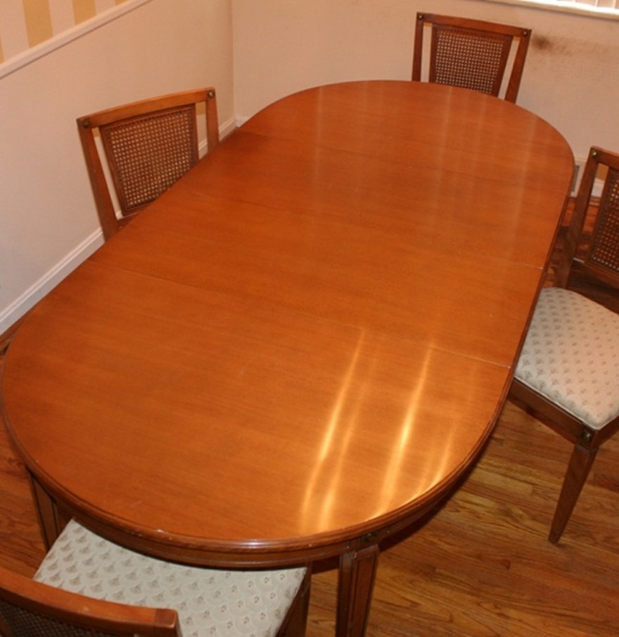 Vintage R Way Dining Table And Chairs
