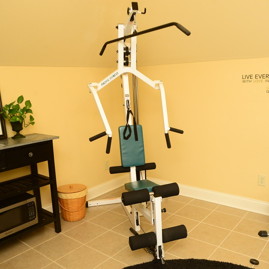 Pacific fitness zuma home gym ebth