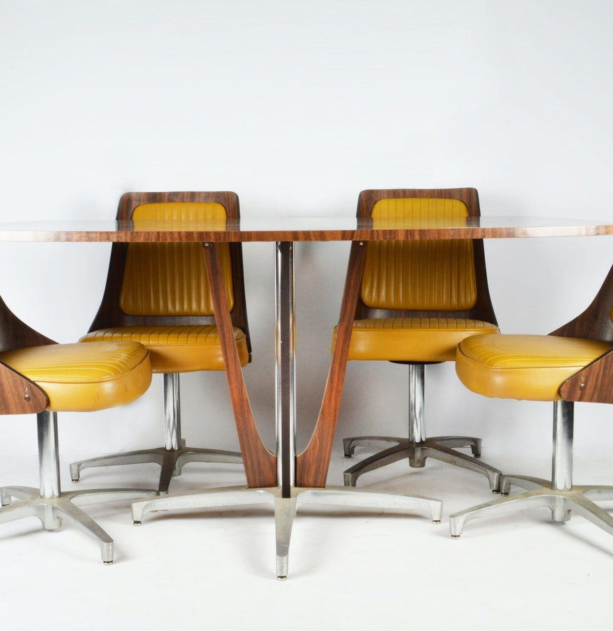 100 Chromcraft Dining Room Furniture Chromcraft Fiberglass Shell Sofa Mid Century Modern