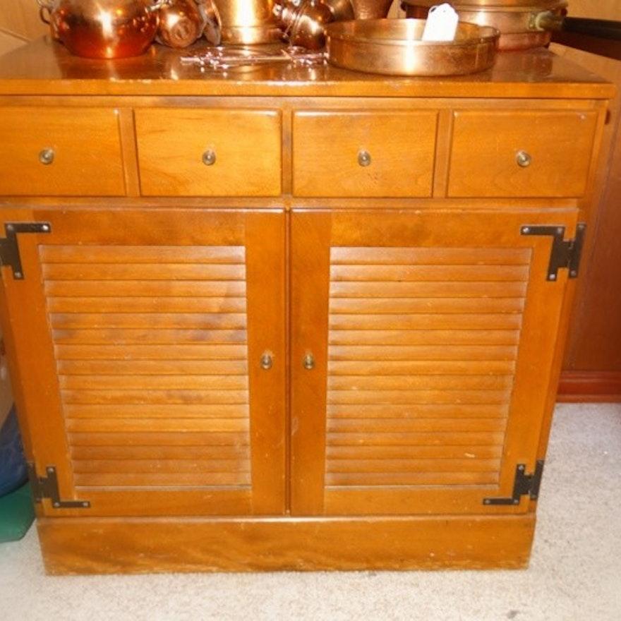 Ethan Allen Baumritter Vintage Cabinet