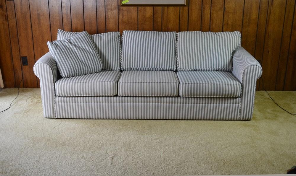 Contemporary Ticking Stripe Sofa #1 By Bauhaus ...