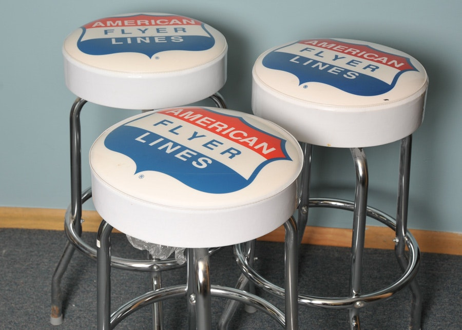 American Flyer Bar Stools ...