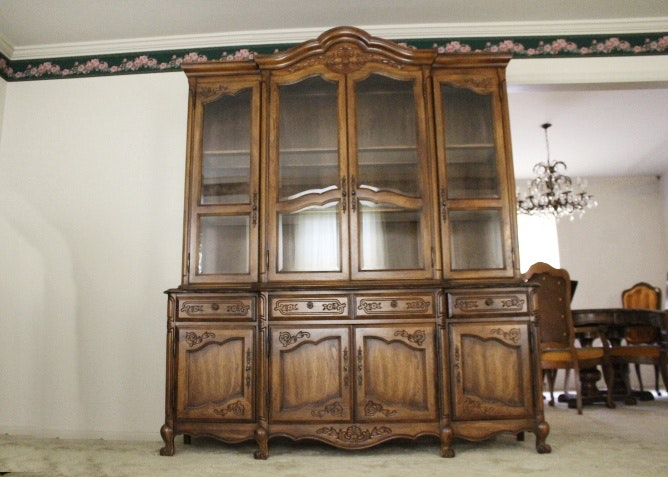 Gentil Large Lighted China Cabinet ...