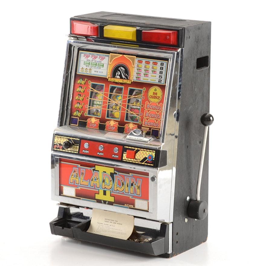 Aladdin slot machine for sale
