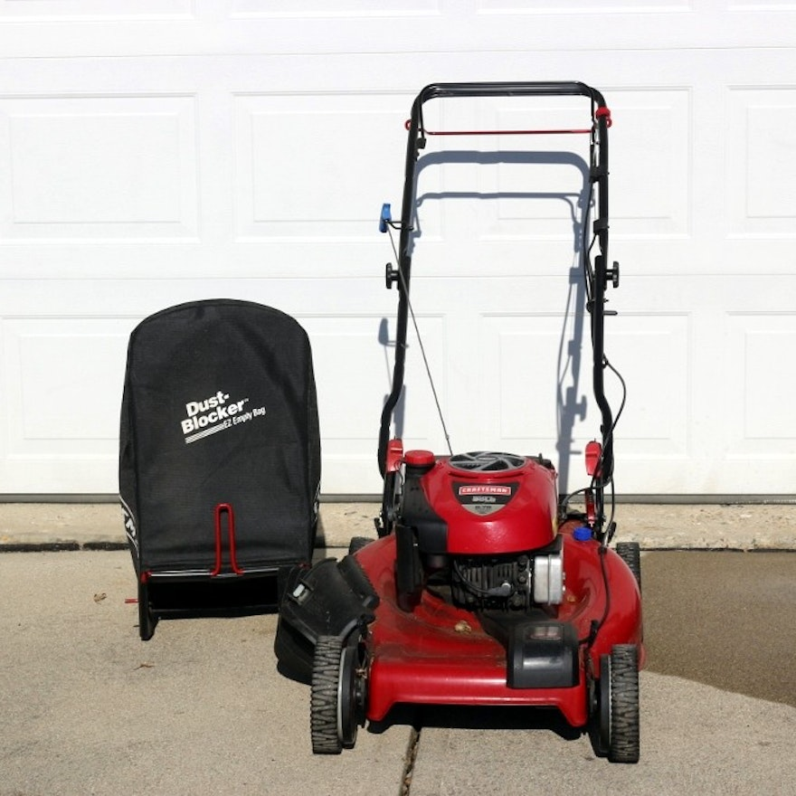 Sears Craftsman Lawn Mower With Attachable Bag
