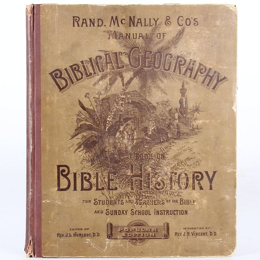 Atlas of Biblical Geography, 1884