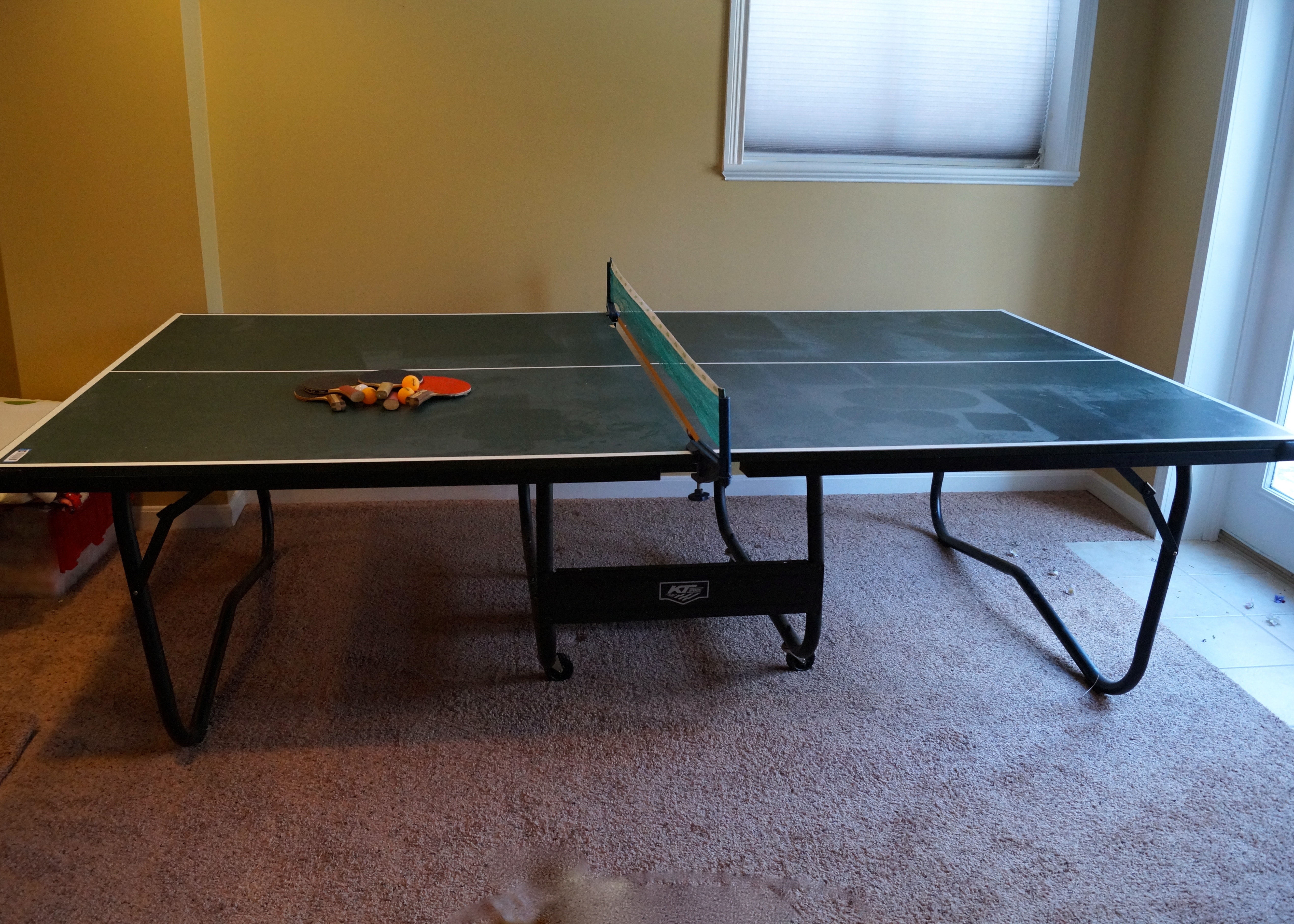 KT Sport Folding Ping Pong Table ...