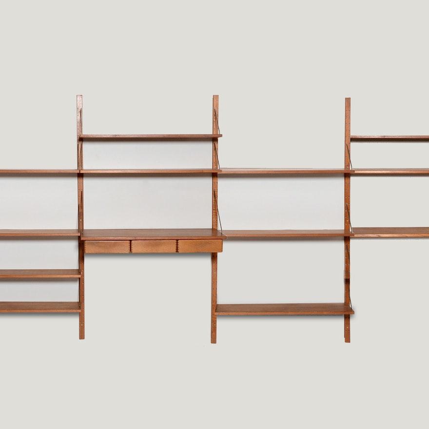 Albert Hansen Modular Wall Shelving