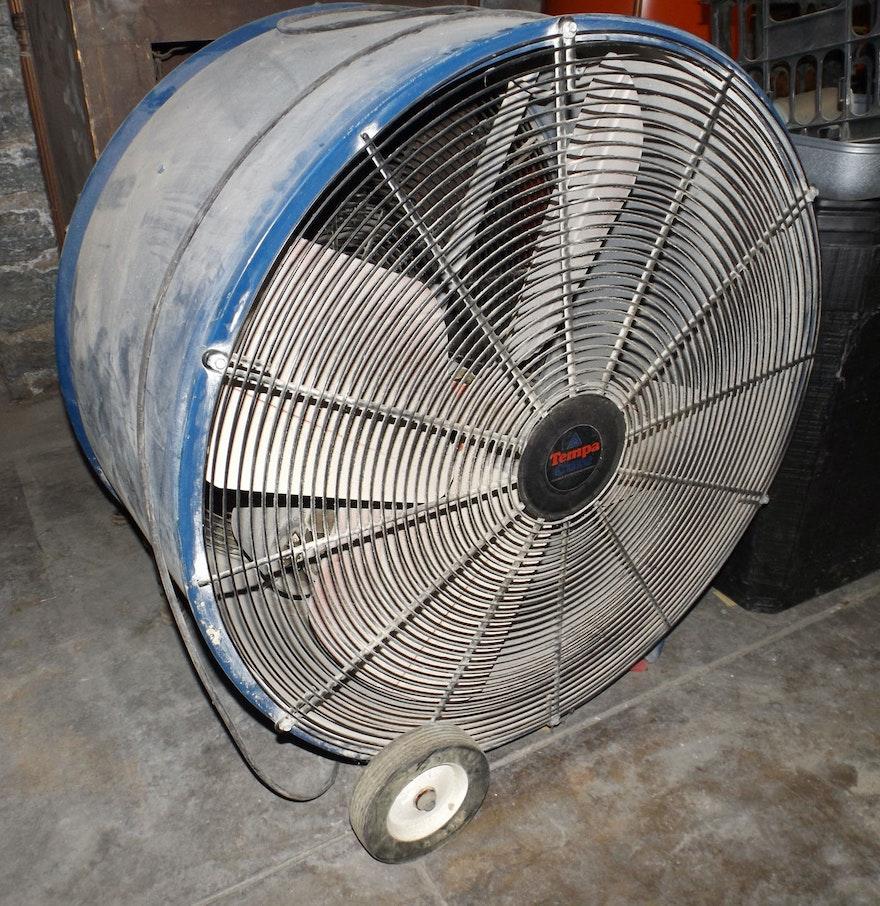 Big Fans Commercial : Large tempacure industrial fan ebth