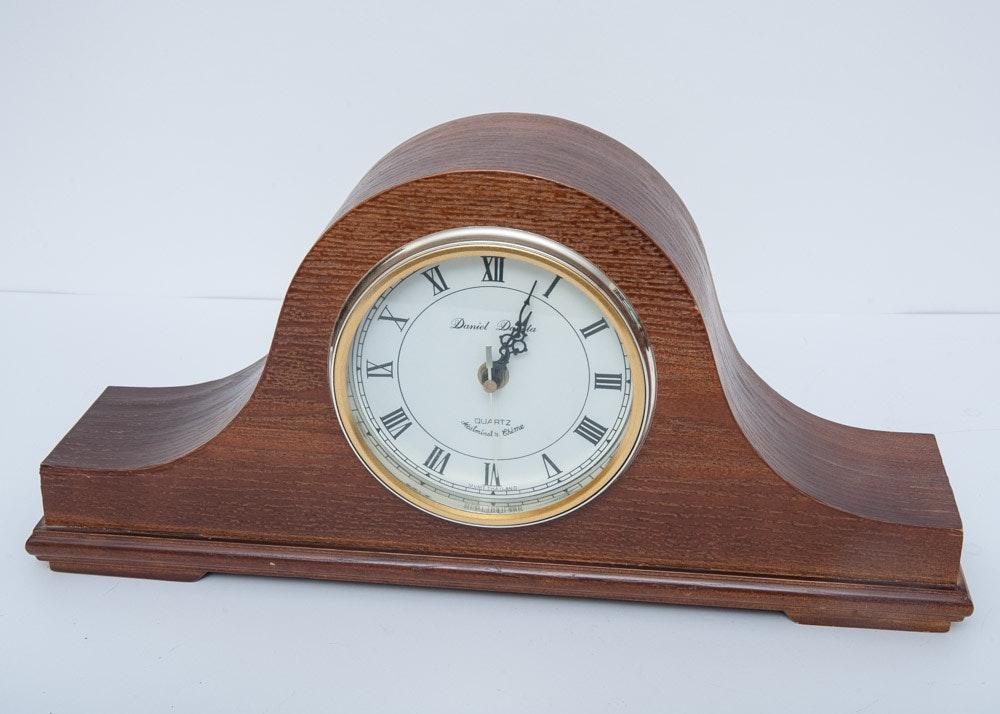Daniel dakota quartz mantel clock