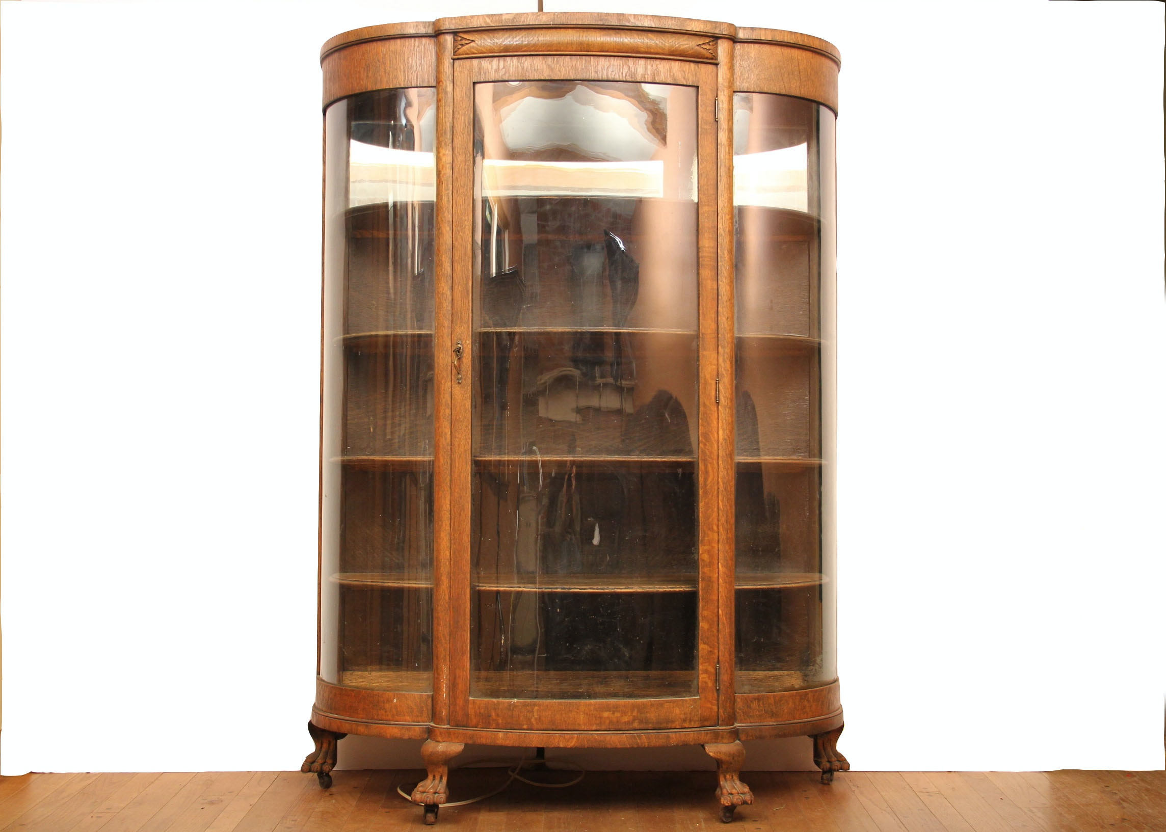 antique oak display cabinet antique circa 1890s oak vitrine display cabinet 4118