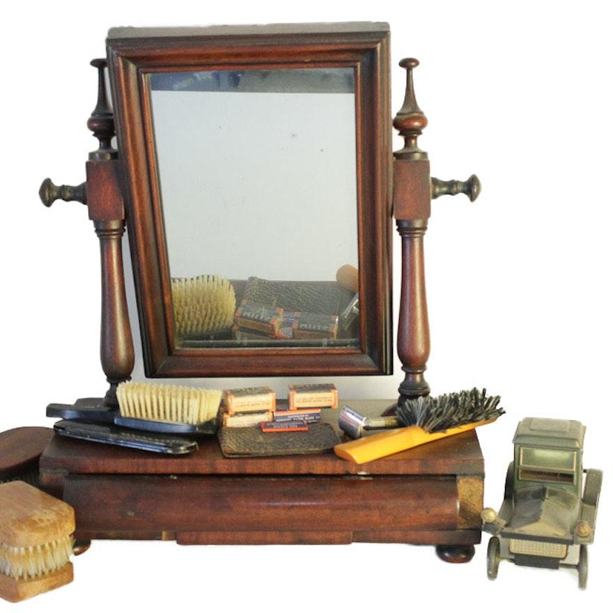 competitive price 4c6cc ad4c5 Men's Table Top Vanity Set