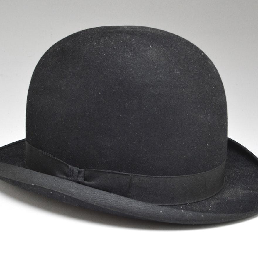 65e2660feea Early 20th Century Bowler Hat   EBTH