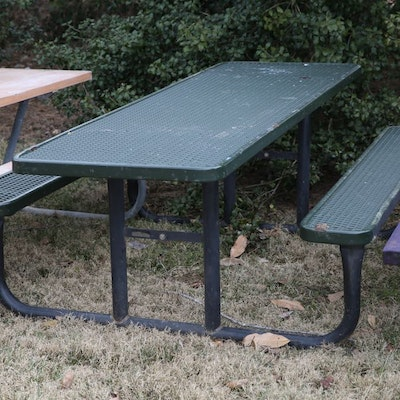 Online furniture auctions vintage furniture auction antique 8 green picnic table watchthetrailerfo