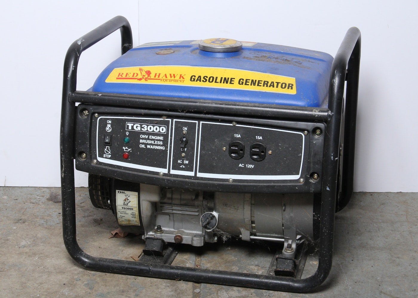 Red Hawk Gas Generator Ebth