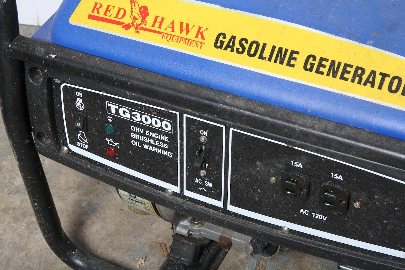 Red Hawk Gas Generator Ebth
