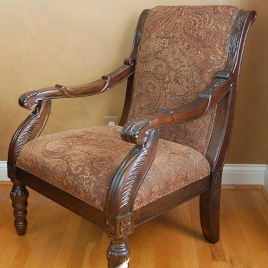 Bradington Truffle Accent Chair From