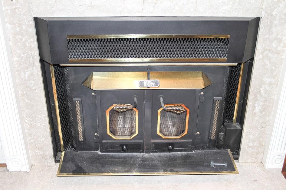 Buck Stove Fireplace Insert Model B EBTH