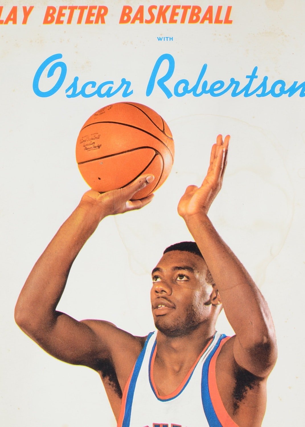 Big O together with Vintage Oscar Robertson Cincinnati Royals Nba 50 Ch ion Jersey Nwt together with 80945006 in addition University Of Cincinnati further 32569789. on oscar robertson cincinnati