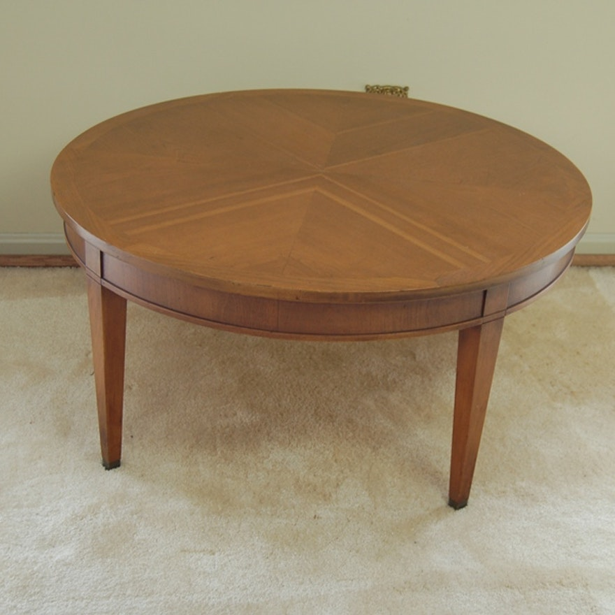 Wood Veneer Coffee Table Ebth