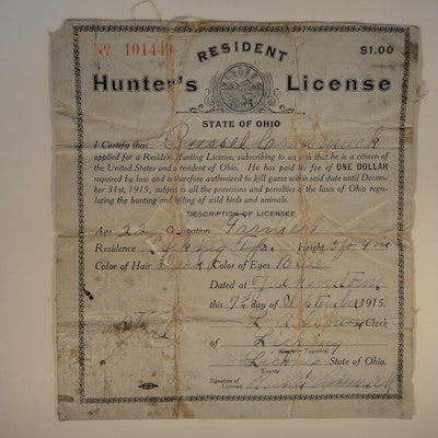 All categories in minster ohio personal property sale for Ohio state fishing license