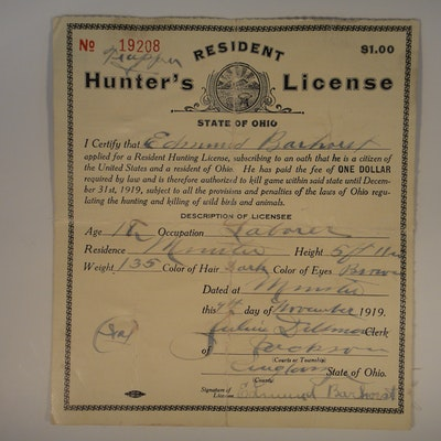 All categories in minster ohio personal property sale for Ohio fishing license online