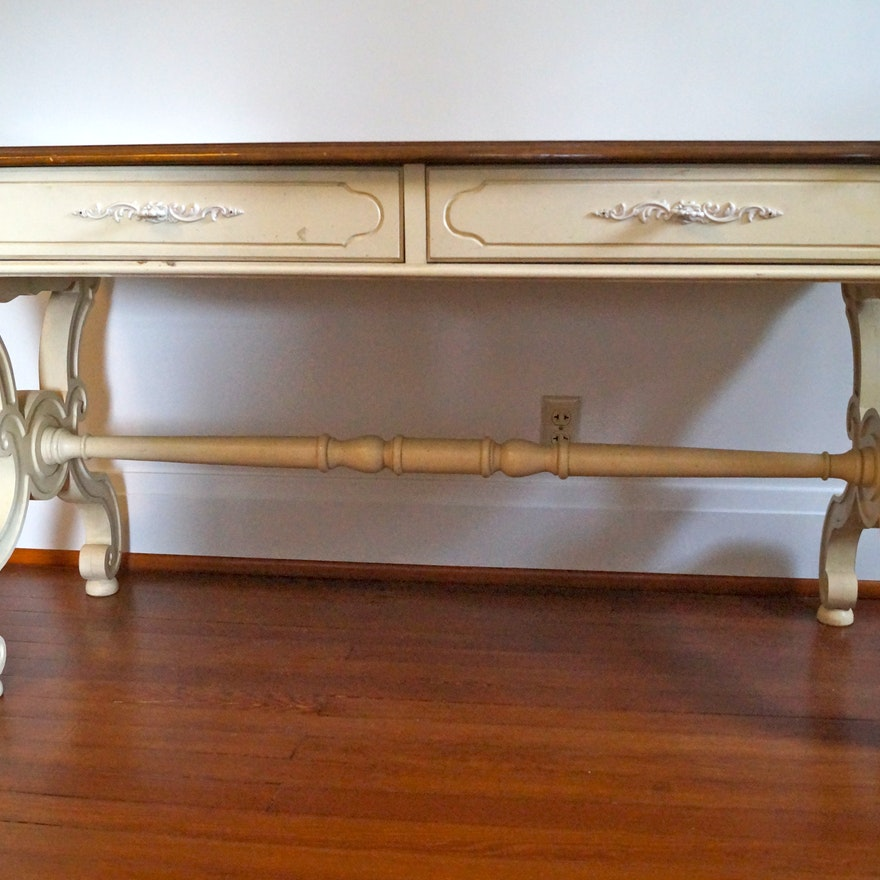 French Country Style Console Table EBTH - French country style console table
