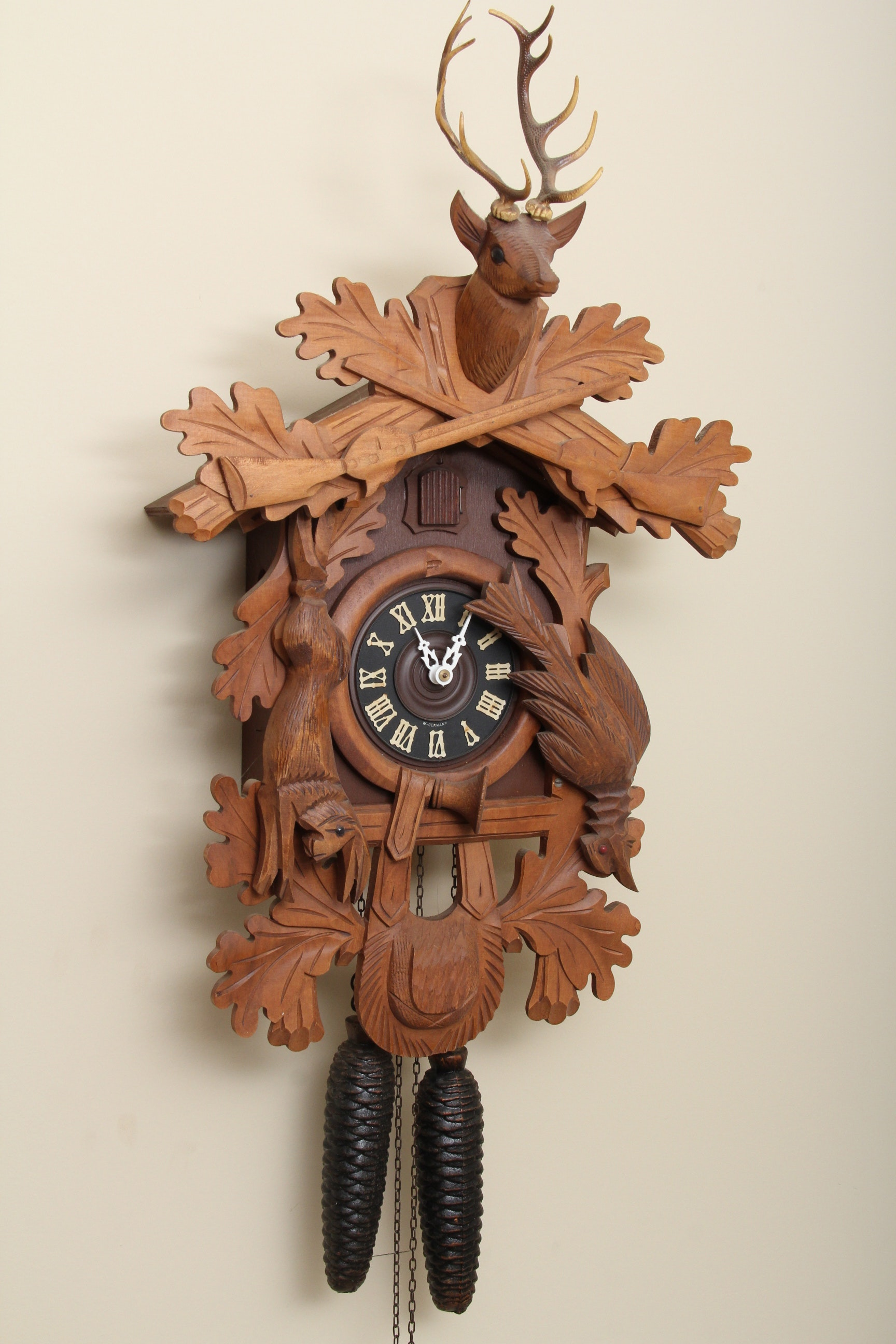 Hunters Cuckoo Clock from West Germany : EBTH