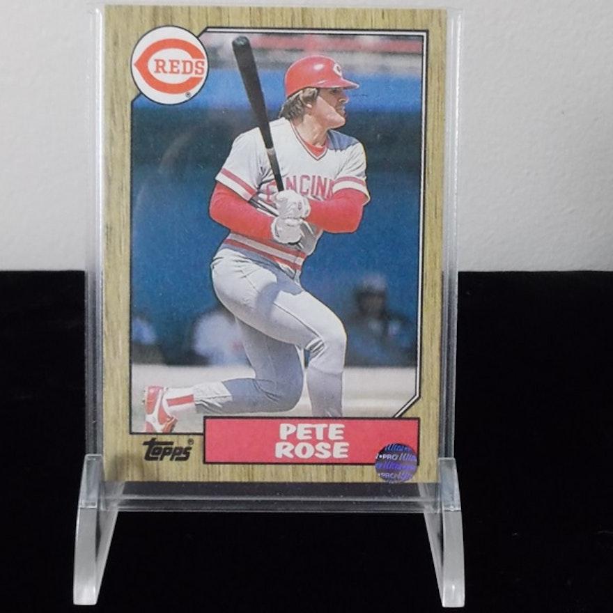 1987 Topps Pete Rose 200