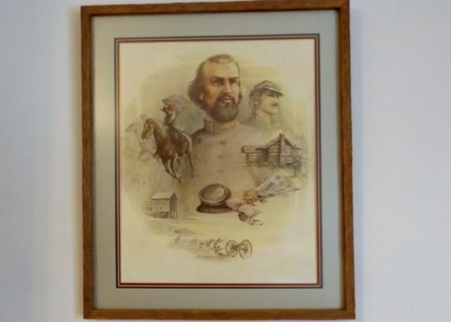 "Lexington Auto Sales >> Signed, Framed Print of Ben Hampton's ""Standing Proud"" | EBTH"