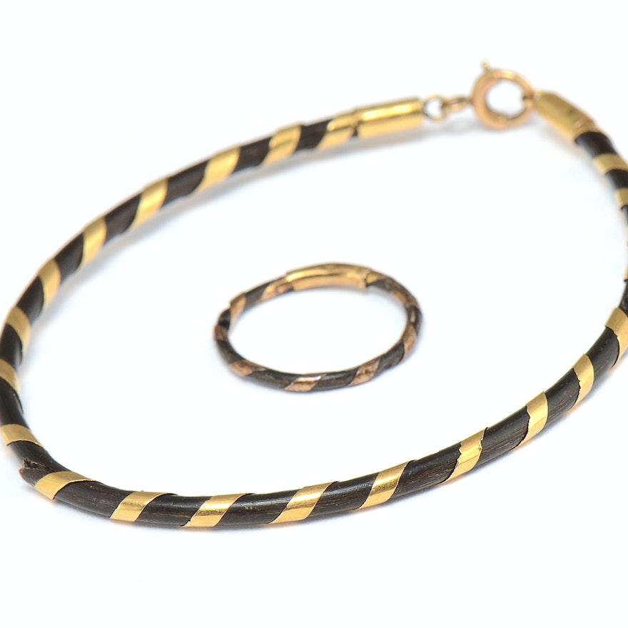 Coordinating Ring Bracelet