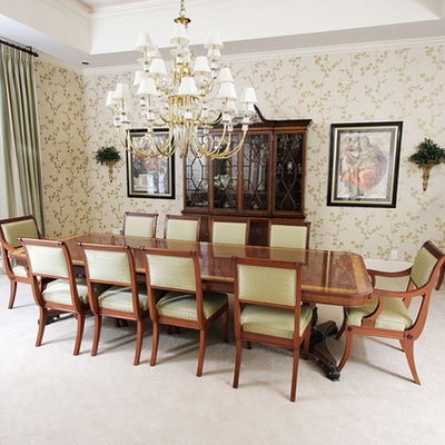 Fourteen Neoclassical Dining Room Chairs