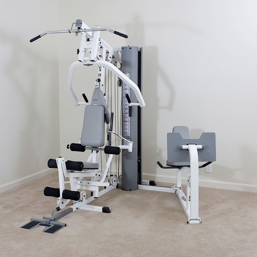 Home Exercise Equipment For Legs: Tuff Stuff Odyssey 5 Home Gym