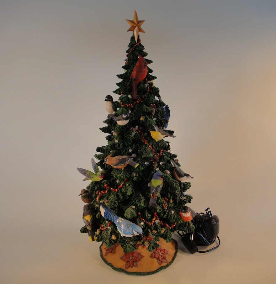 Danbury mint birdwatcher 39 s christmas tree ebth for Christmas tree items list
