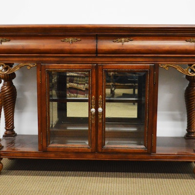 Marble Top Buffet - Online Furniture Auctions Vintage Furniture Auction Antique