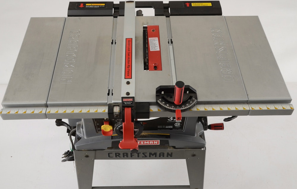 Table Saw And Circular Saw By Craftsman : EBTH