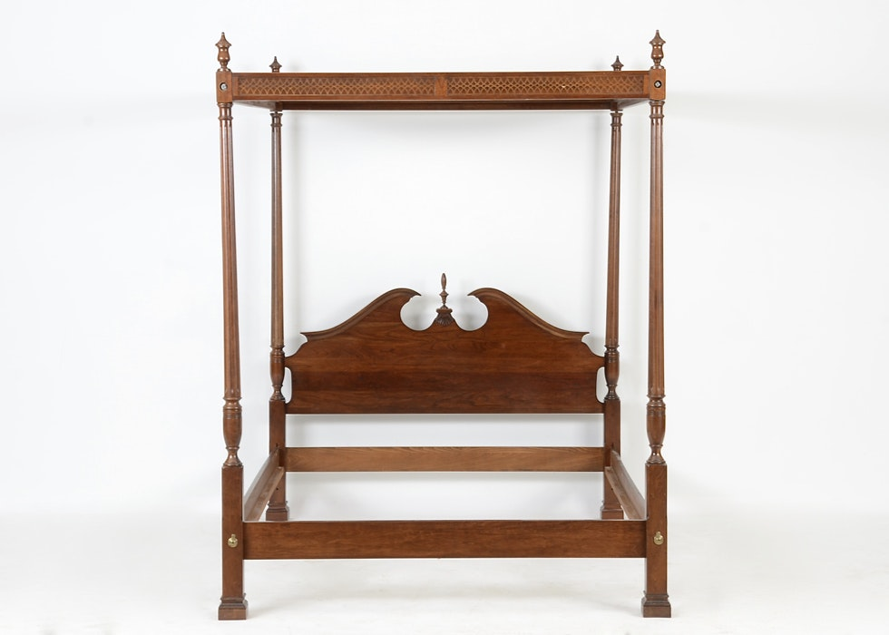 Federal Style Cherry Tester Bed