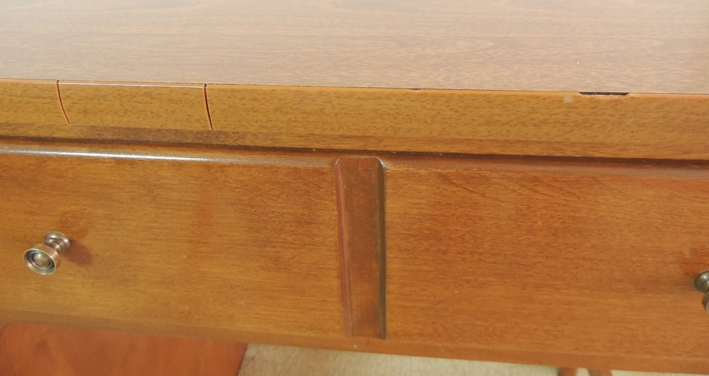 Ethan Allen Student Desk And Chair Ebth