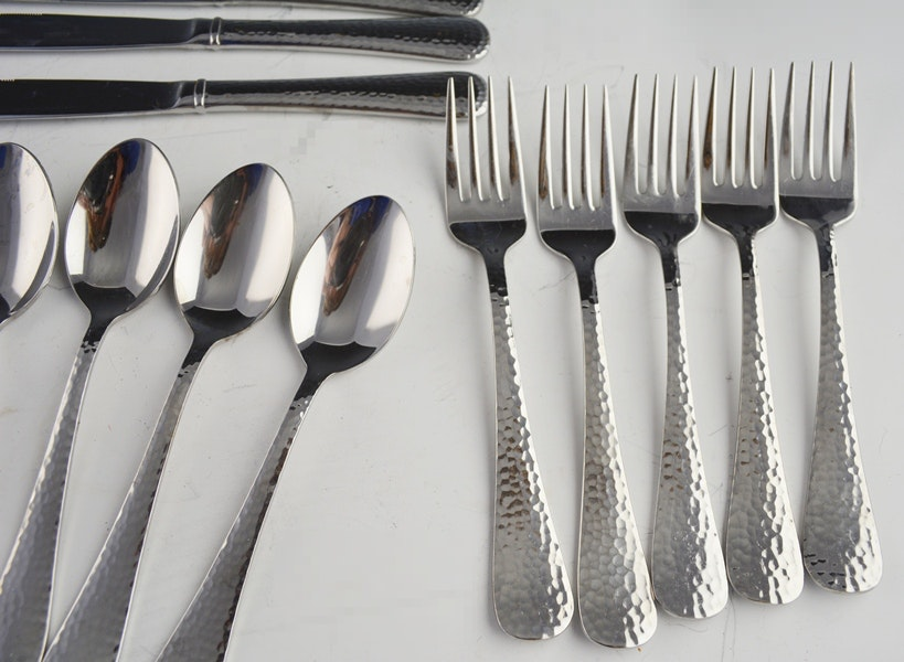 Reed Amp Barton Stainless Quot Heritage Mint Quot Flatware Ebth