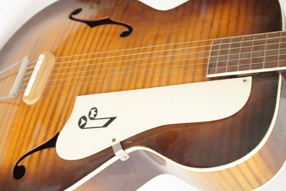 Alvarez Auto Sales >> Vintage Truetone Kay Harmony Archtop Acoustic Guitar : EBTH