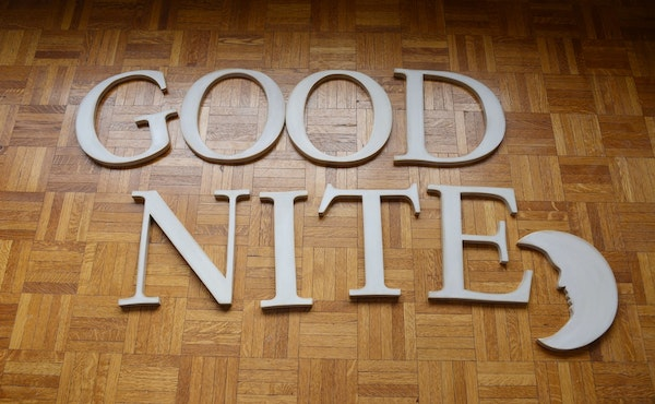 pottery barn quotgood nitequot wood letters ebth With pottery barn wooden letters